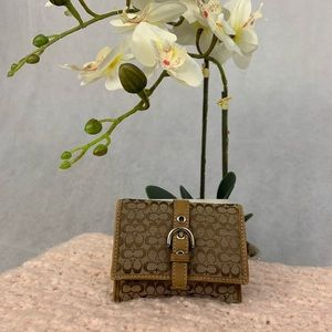Coach Wristlet/ Card Case
